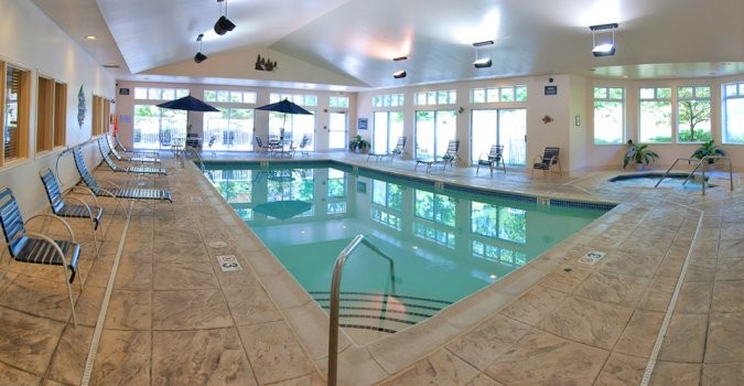 Indoor pool construction