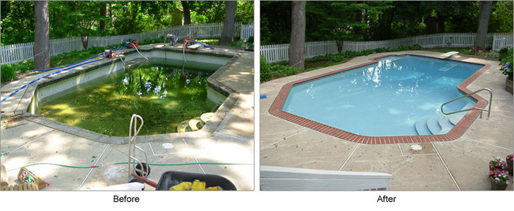 Pool Remodeling Plastering and Decking Boston All MA and New Hampshire