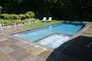 Gunite pool builder