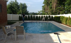 quartz pool plaster brookline