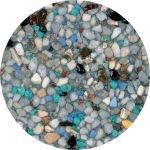 Pebble Stonescapes Tropics Blue
