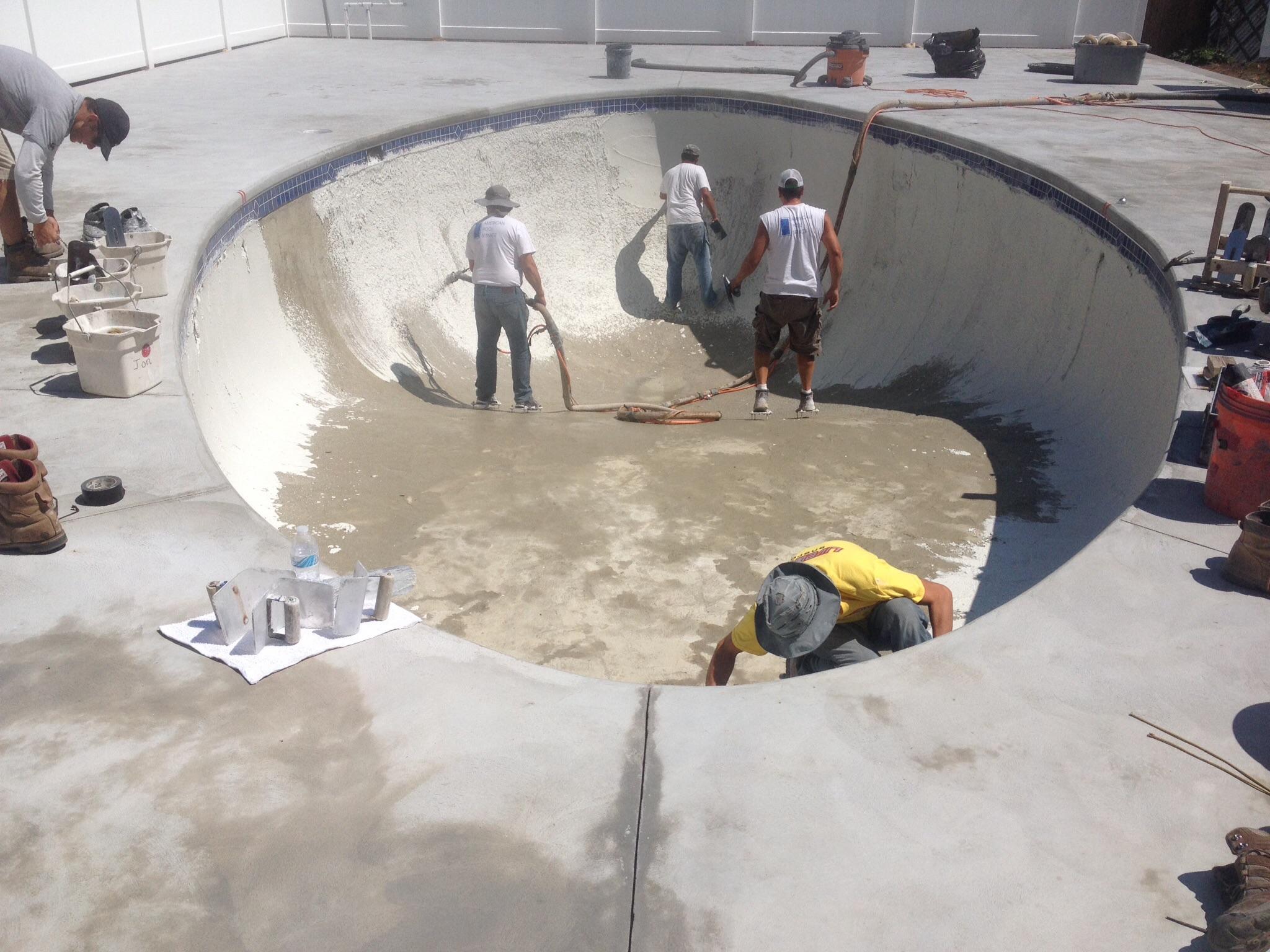 Saugus pool plaster