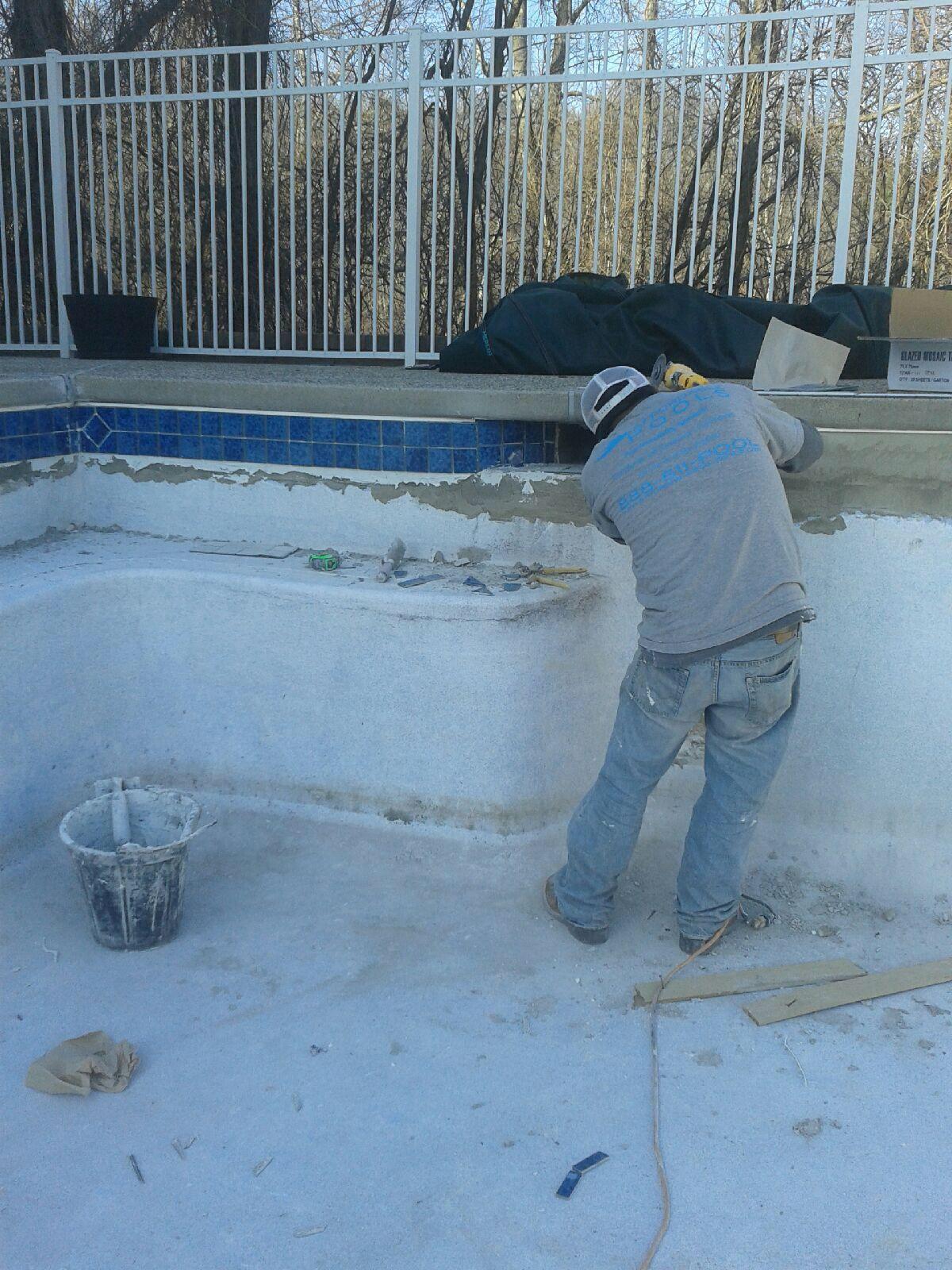 pool tile repair