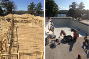 commercial pool construction Laconia