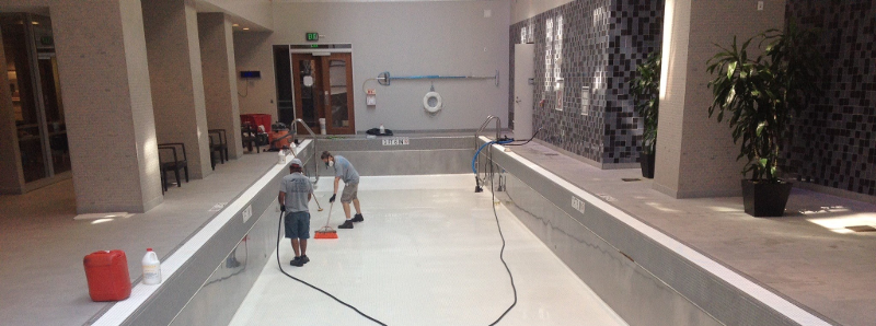 commercial pool plaster