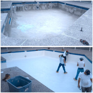 Commercial pool renovation projects Boston and New Hampshire
