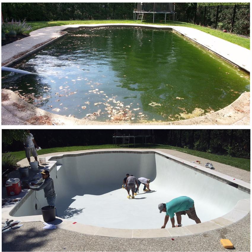 Gunite Pool Remodeling Amp Restoration Pool Plaster And